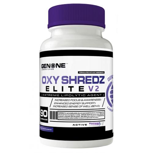 Жиросжигатель Oxy Shredz Elite V2 90 капсул