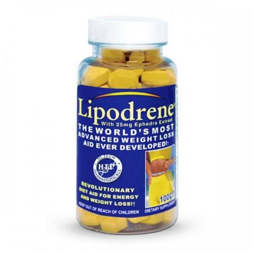 Жиросжигатель Lipodrene ECA+DMAA 100 таблеток