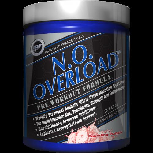 Предтреник N.O. Overload 39 порций