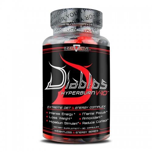 Жиросжигатель Diablos Hyperburn V-10 90 капсул