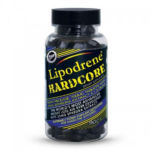 Жиросжигатель Lipodrene Hardcore With Ephedra 90 таблеток