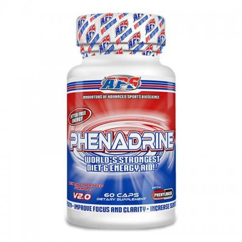 Жиросжигатель Phenadrine 60 капсул