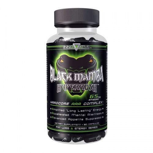 Жиросжигатель Black Mamba Hyperrush 90 капсул